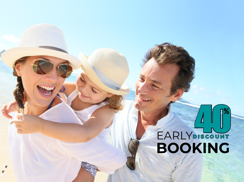 Early Booking Discount 2
