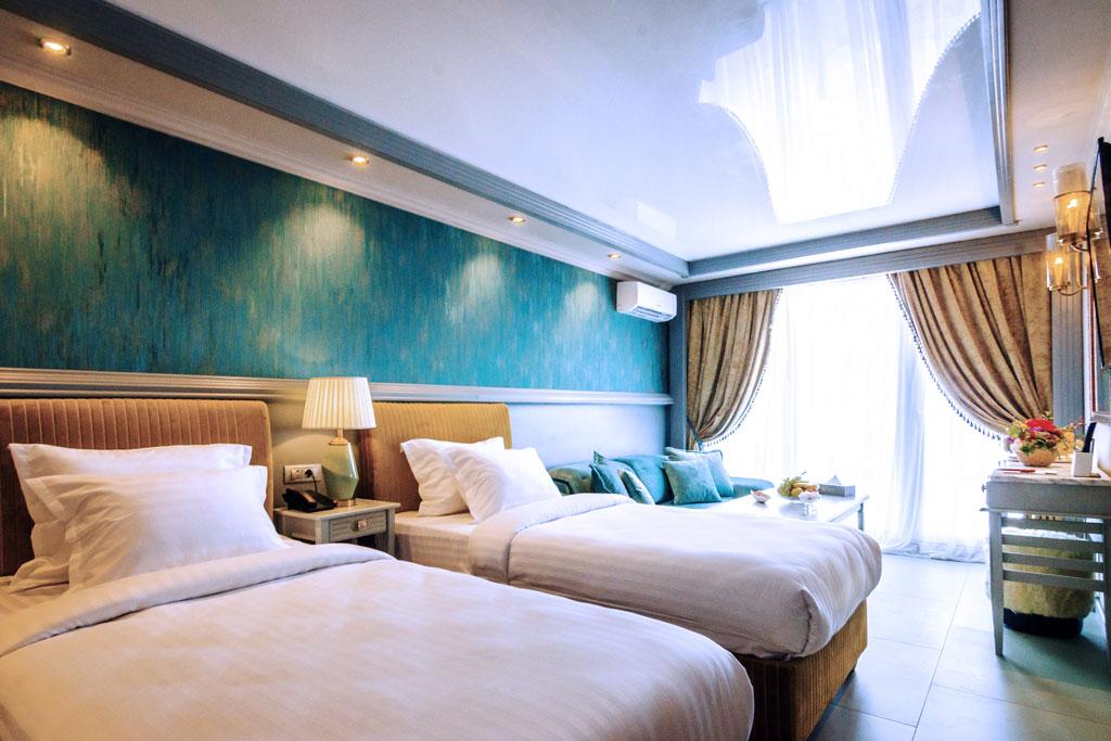 Belvedere - Family Room vedere la mare -Phoenicia Blue View Resort